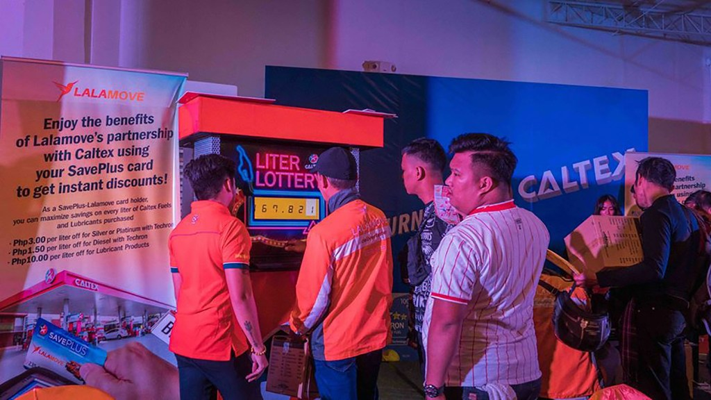 Caltex Provides Discounted Fuels To Lalamove Partner Drivers In Manila And Cebu