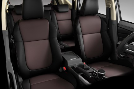 Dual Tone Leather Seats