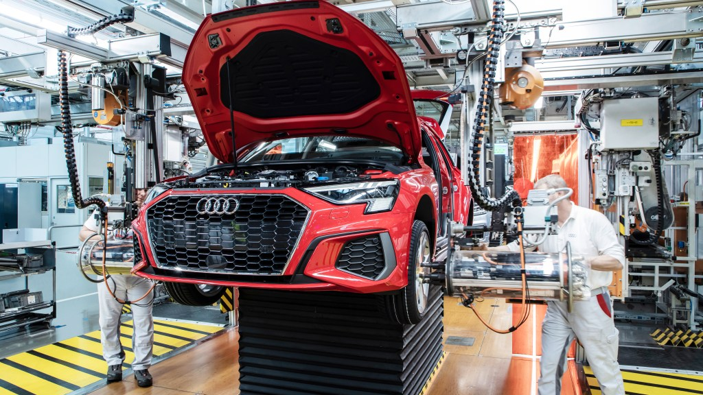 Audi Gradually Restarts Vehicle Production In Europ