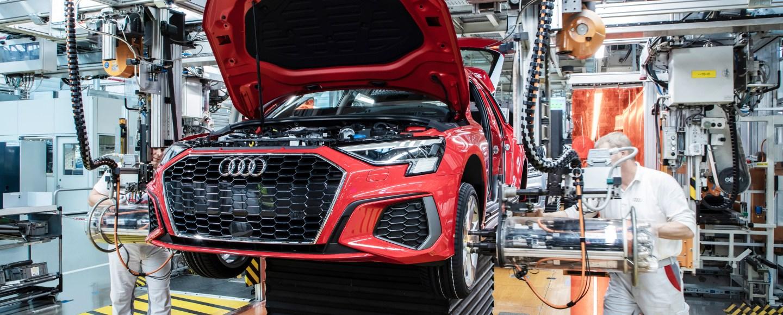 Audi Gradually Restarts Vehicle Production In Europ