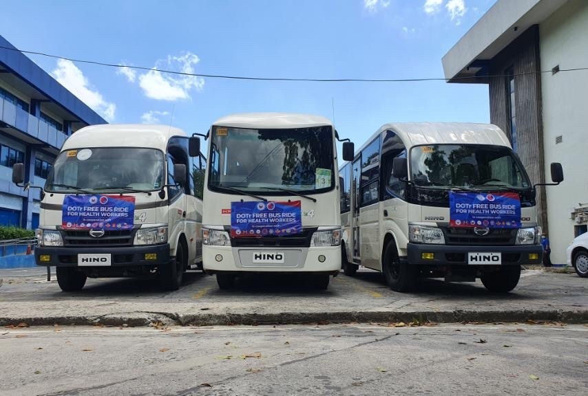 Hino Motors PH Partners With DOTr To Provides Free Rides To Frontliners