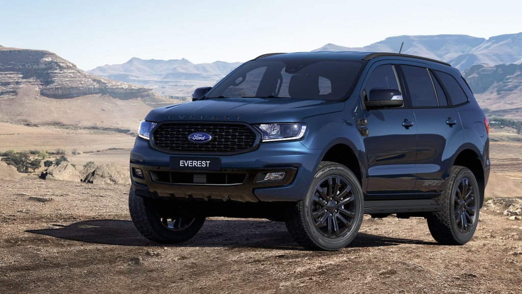 2020 Ford Everest Sport Virtually Unveiled In PH, Starts At P1.868M