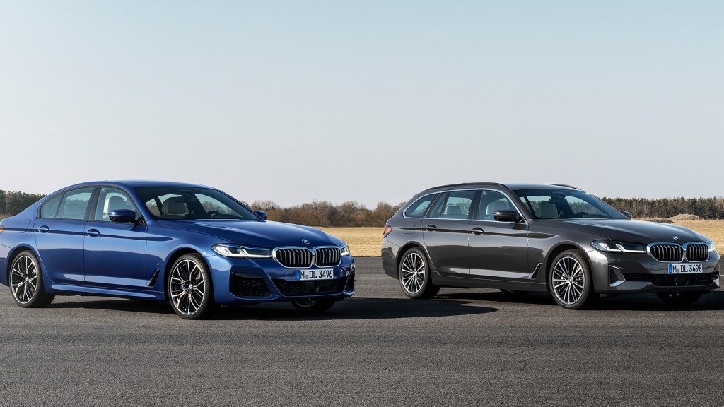 2021 BMW 5 Series Flaunts Its Chiseled Face, Electrified Powertrains
