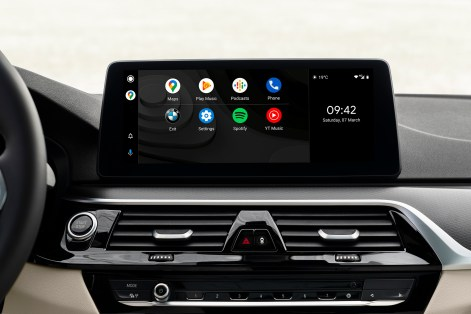 BMW iDrive 7 Android Auto
