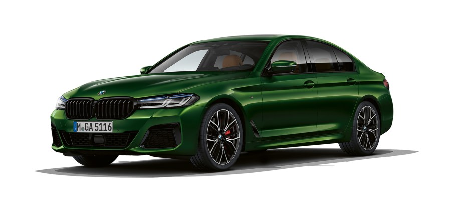2021 BMW M550i xDrive Exterio