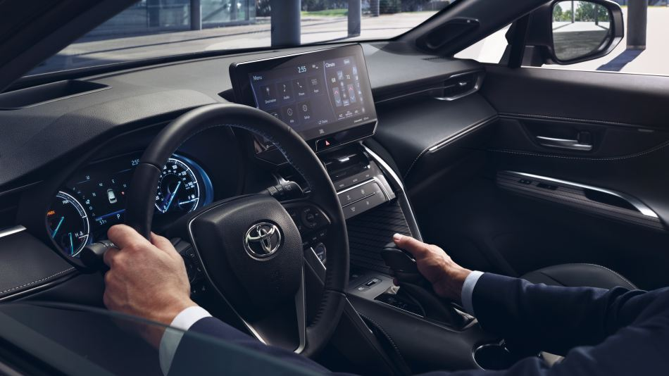 2021 Toyota Venza Limited Interior