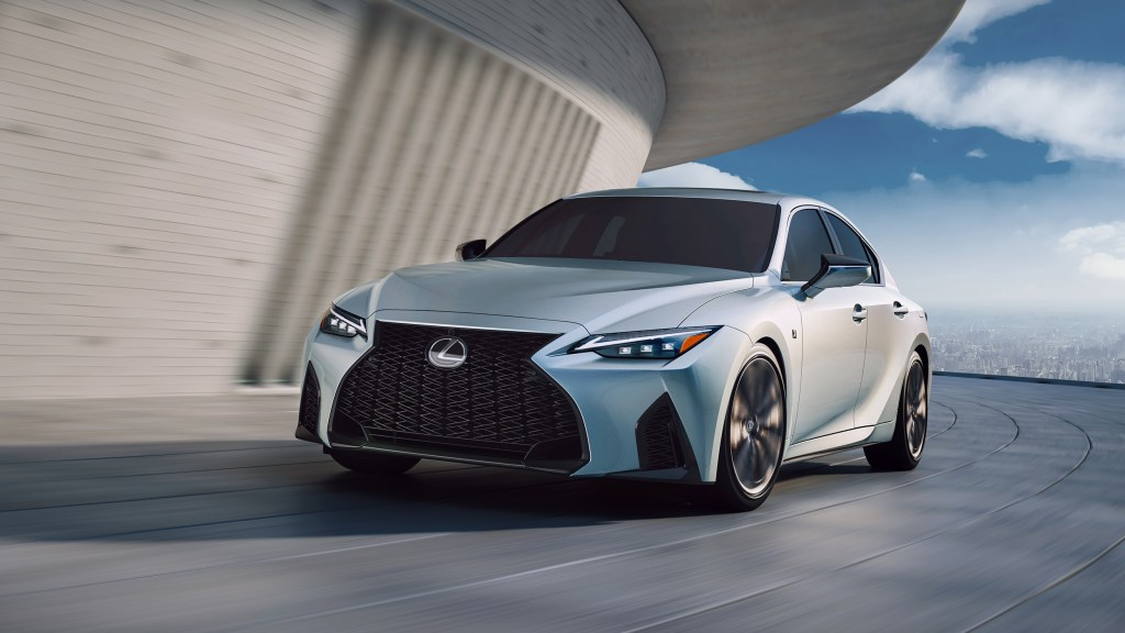 2021 Lexus IS Is An Extensive Facelift Of The Current Model