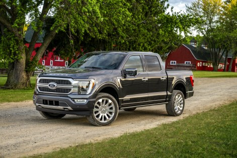 2021 Ford F-150 Limited Exterior