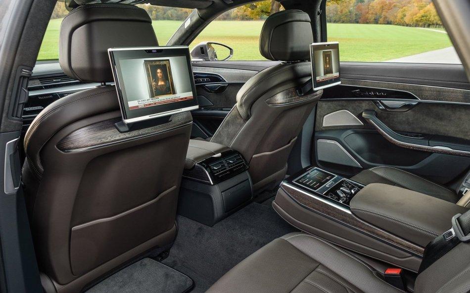 2020 Audi A8 L 3.0 TFSI MHEV Interior