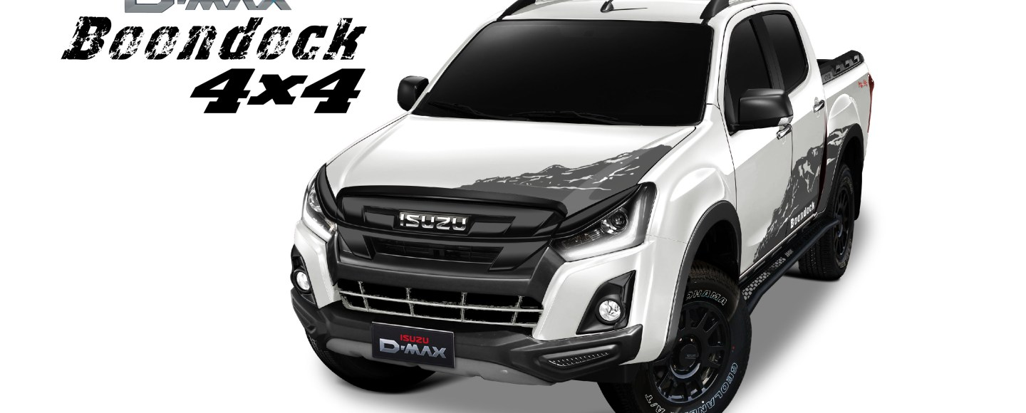 2020 Isuzu D-Max Boondock 4x4 Has Nitrogen-Charged Shocks, Starts At P1.725M