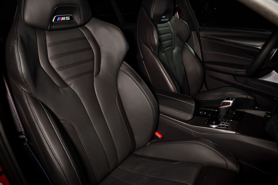 2021 BMW M5 Competition Interior