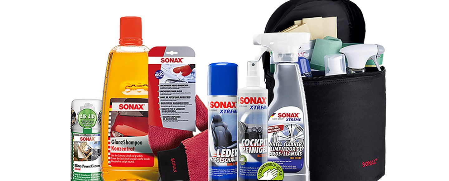 Sonax Car Care Products Now On Lazada PH
