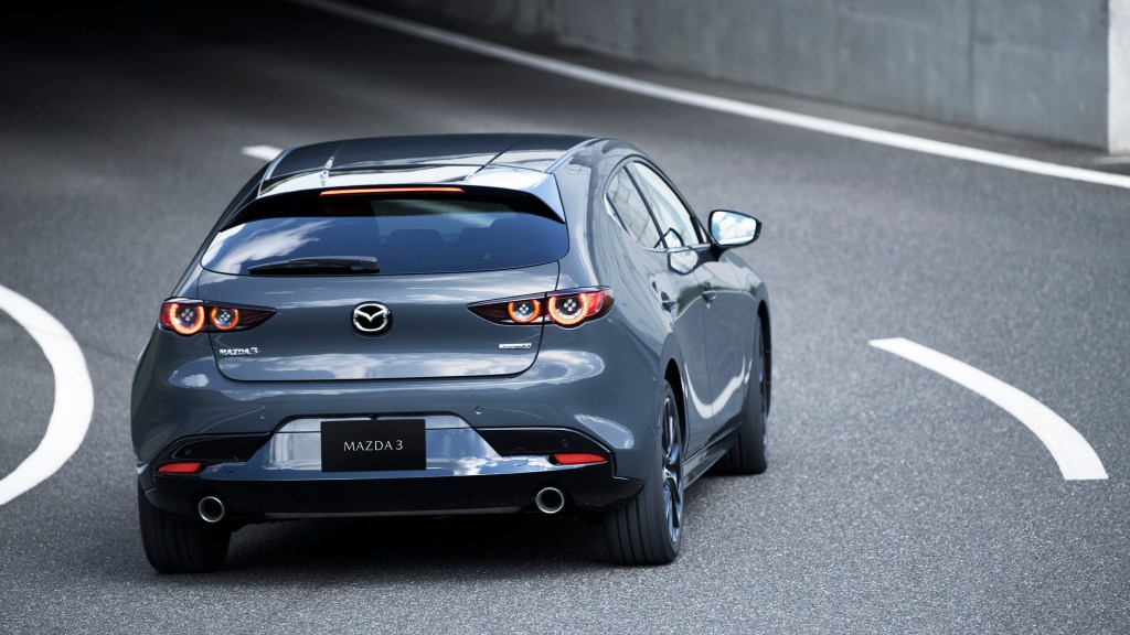 2021 Mazda 3 Turbo Will Produce 227 HP And 420 Nm