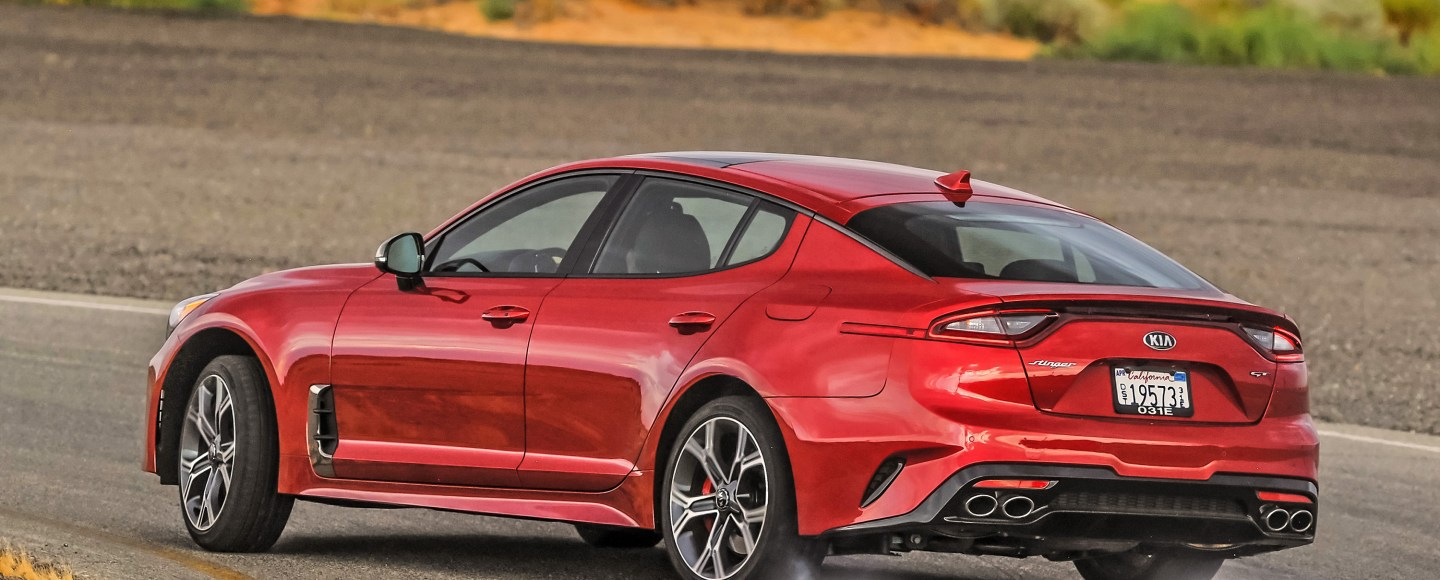 Yes, You Can Get The 370 HP Kia Stinger GT With A Zero Downpayment