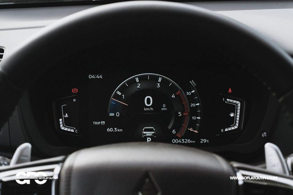 2020 Mitsubishi Montero Sport GT Digital Gauge Cluster