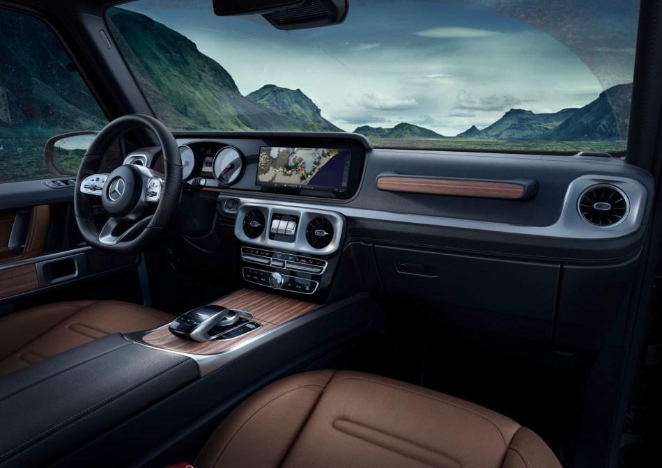 2020 Mercedes-Benz G350d Interior Philippines