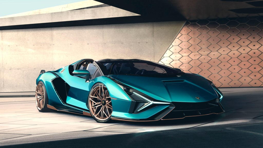 819 HP Lamborghini Sián Roadster Hybrid Already Sold Out Before Launch