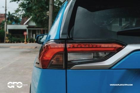 2020 Toyota RAV4 2.5 LTD Taillights