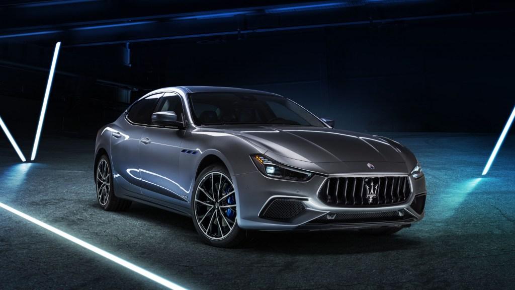 2021 Maserati Ghibli Hybrid Is Italian Brand's First-Ever Hybrid