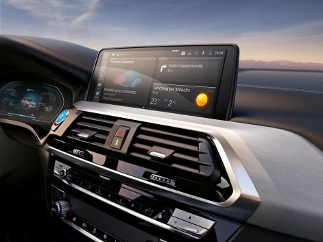 2021 BMW iX3 Interior