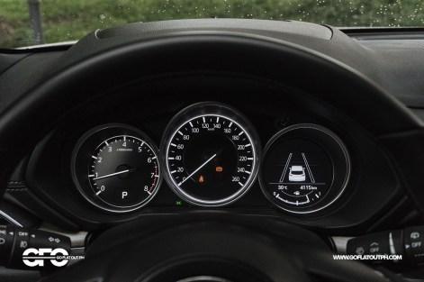 2020 Mazda CX-8 Gauges