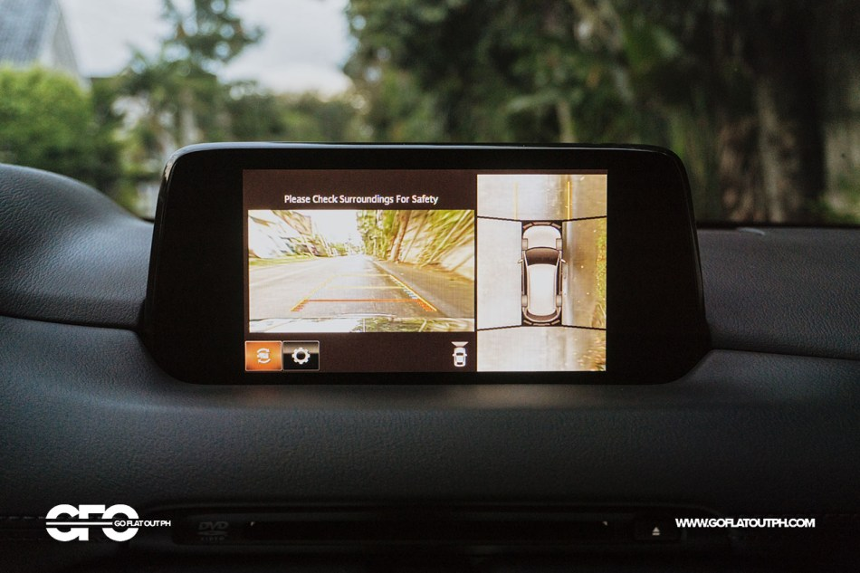 2020 Mazda CX-8 360-degree camera