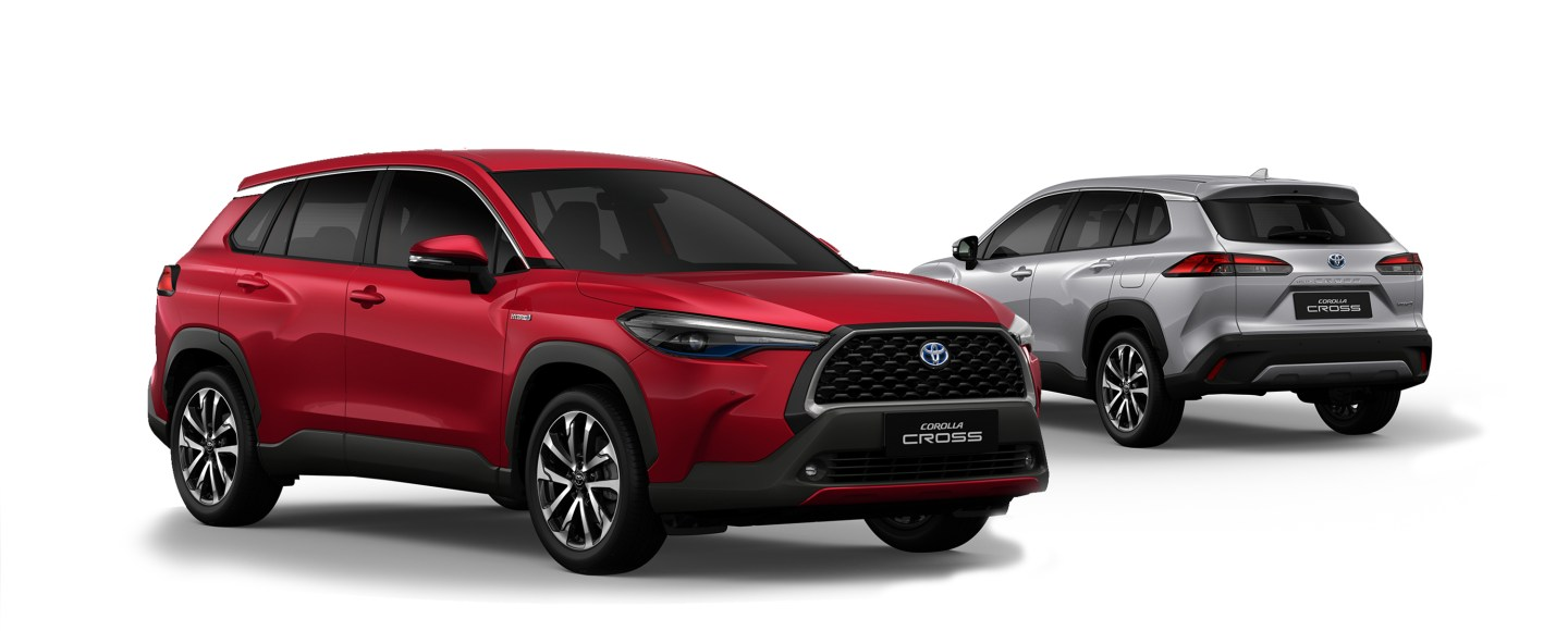 2021 Toyota Corolla Cross Now In PH, Hybrid Variant Starts At P1.650M