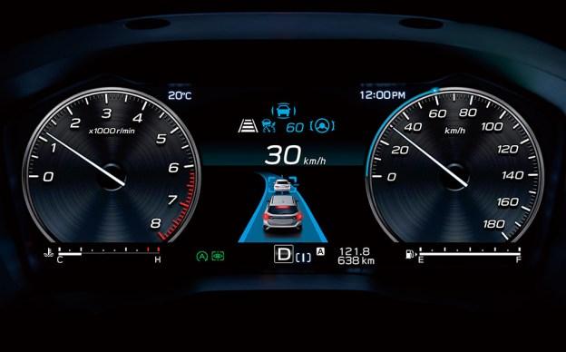 2021 Subaru Levorg Digital Gauge Cluster