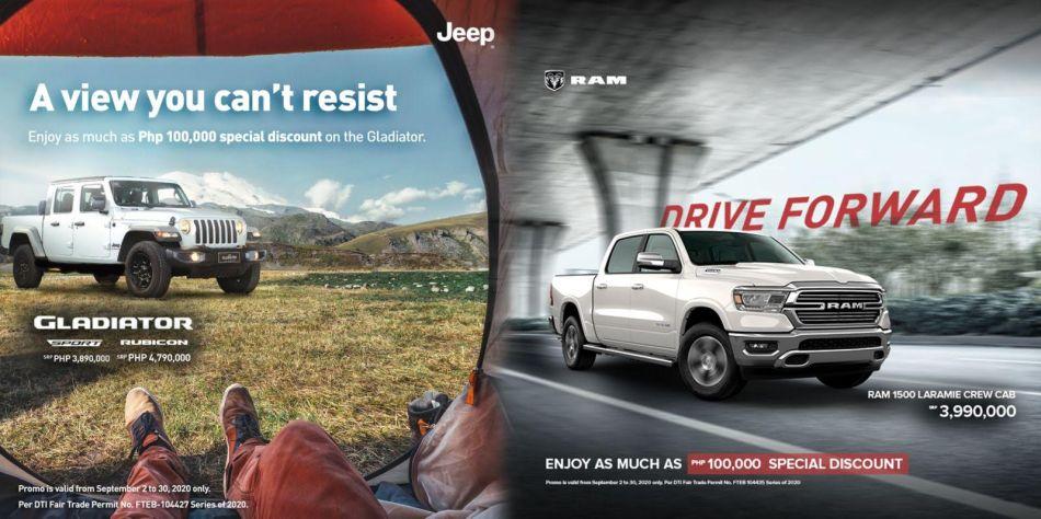 Jeep Gladiator Ram 1500 Promo Philippines
