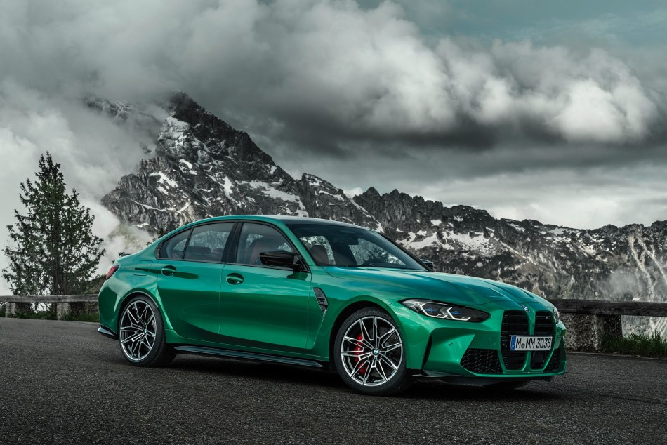 2021 BMW M3 Competition Exterior