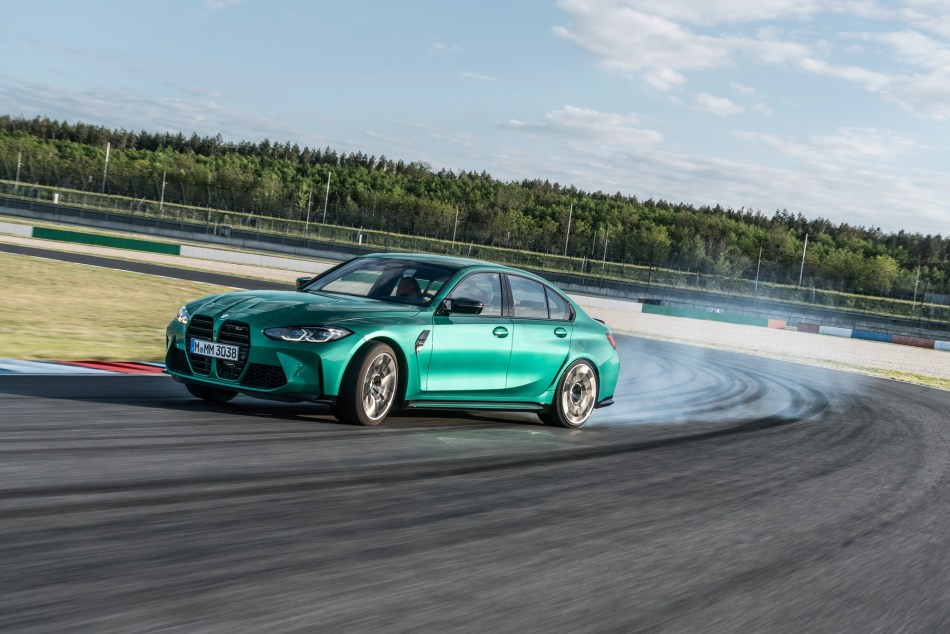 2021 BMW M3 Competition Drift