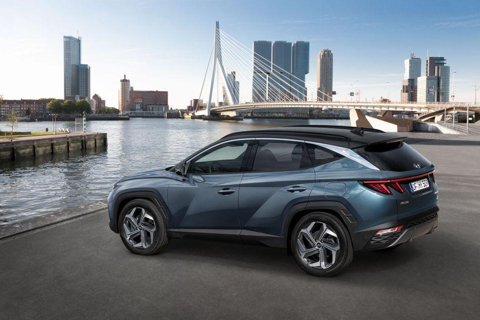 2021 Hyundai Tucson Exterior Rear