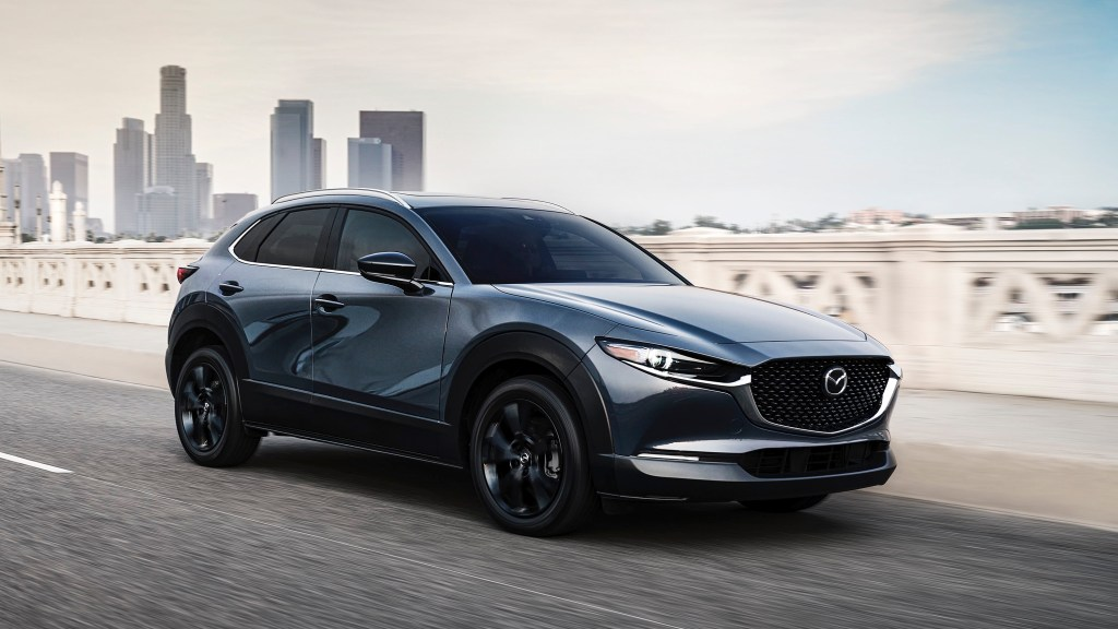 2021 Mazda CX-30 2.5 Turbo Debuts With 250 HP