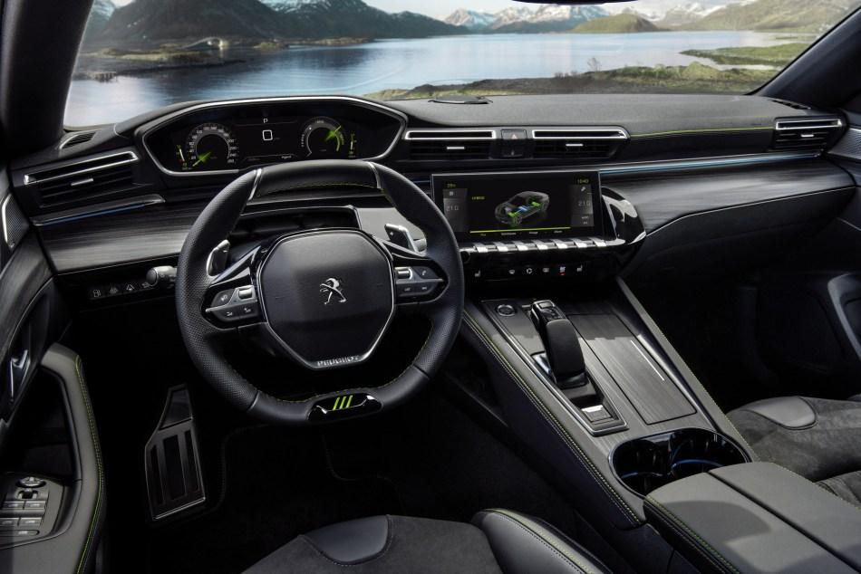 2021 Peugeot 508 PSE Interior