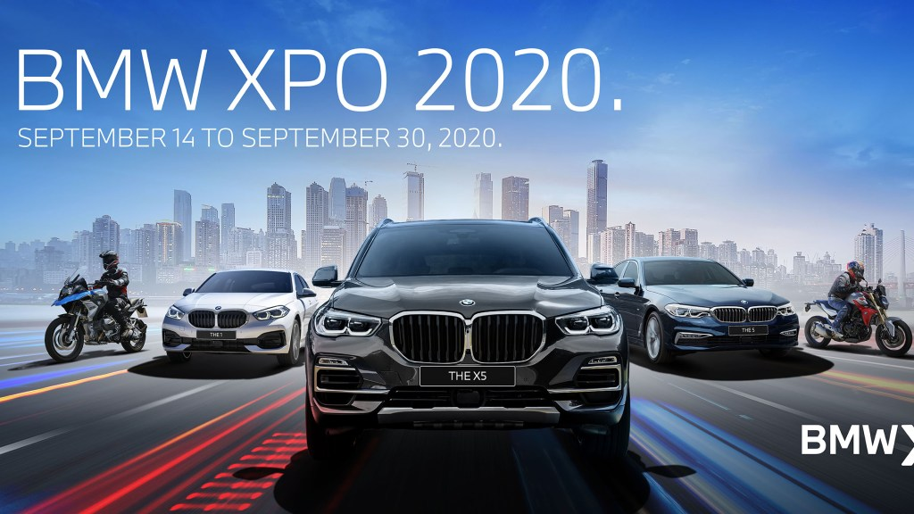 BMW Xpo 2020 Goes Digital With Massive Discounts And Giveaways