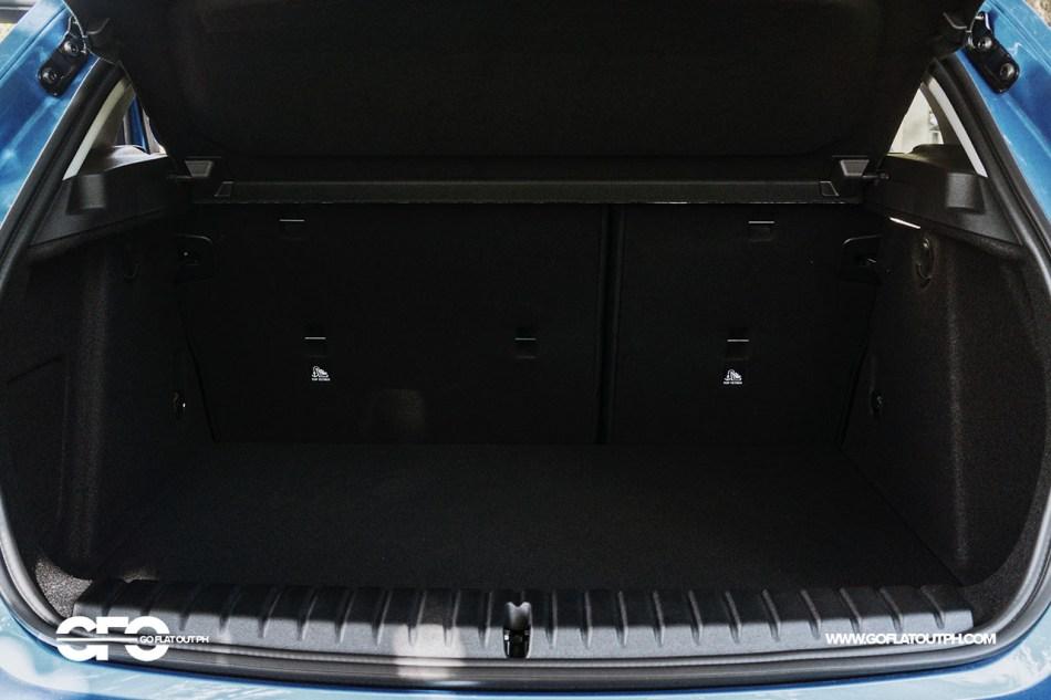 2020 BMW 118i Sport 380-liter trunk