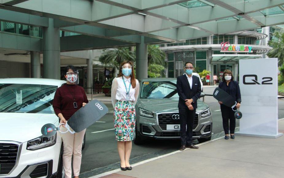 Araneta City Awards Brand-New Audi Q2 To Two Raffle Winners