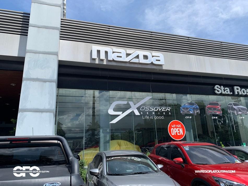 Mazda Sta. Rosa Facade