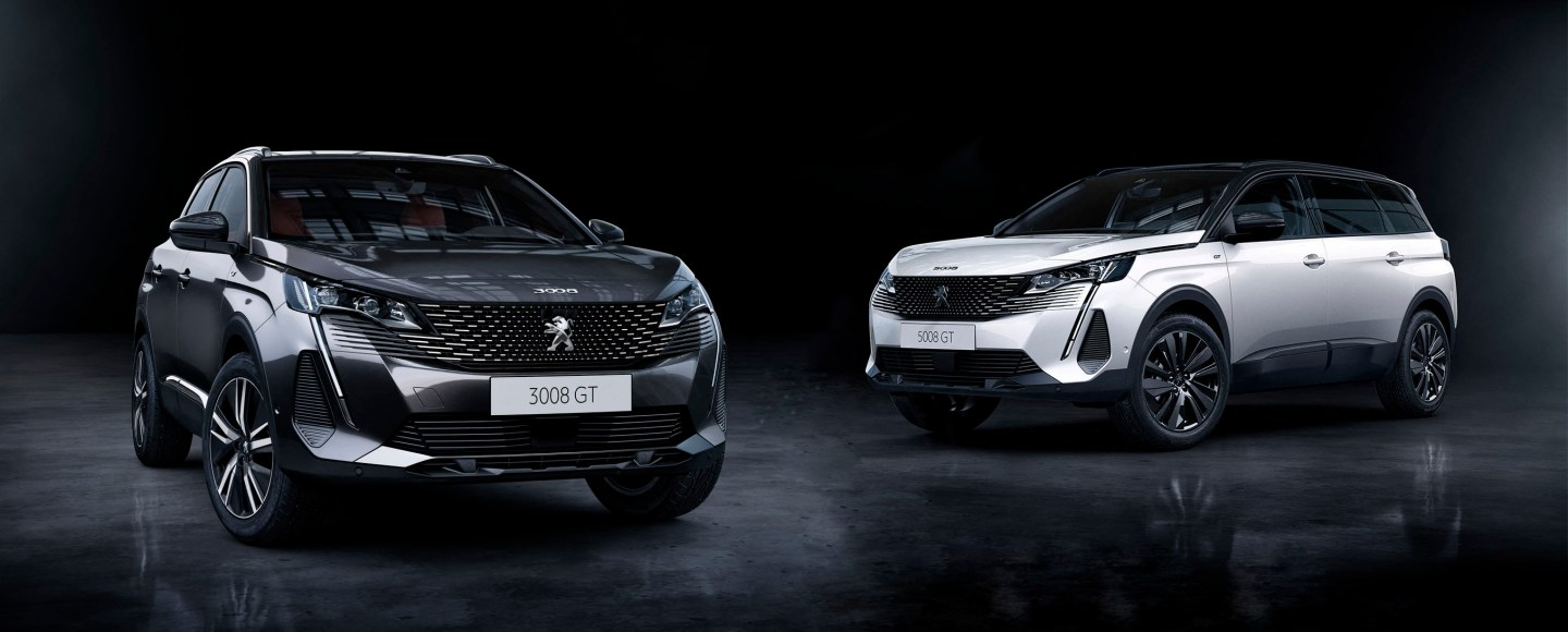 2021 Peugeot 3008 And 5008 Gets Improved Design, Better Tech