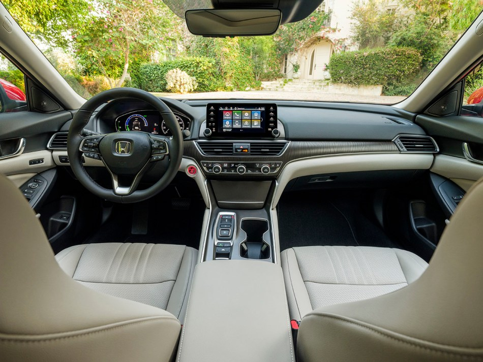 2021 Honda Accord Touring Hybrid Interior