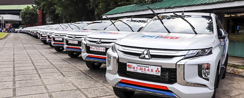 DepEd Adds 166 Units Of The Mitsubishi Strada GLS 4x4 MT To Its Fleet