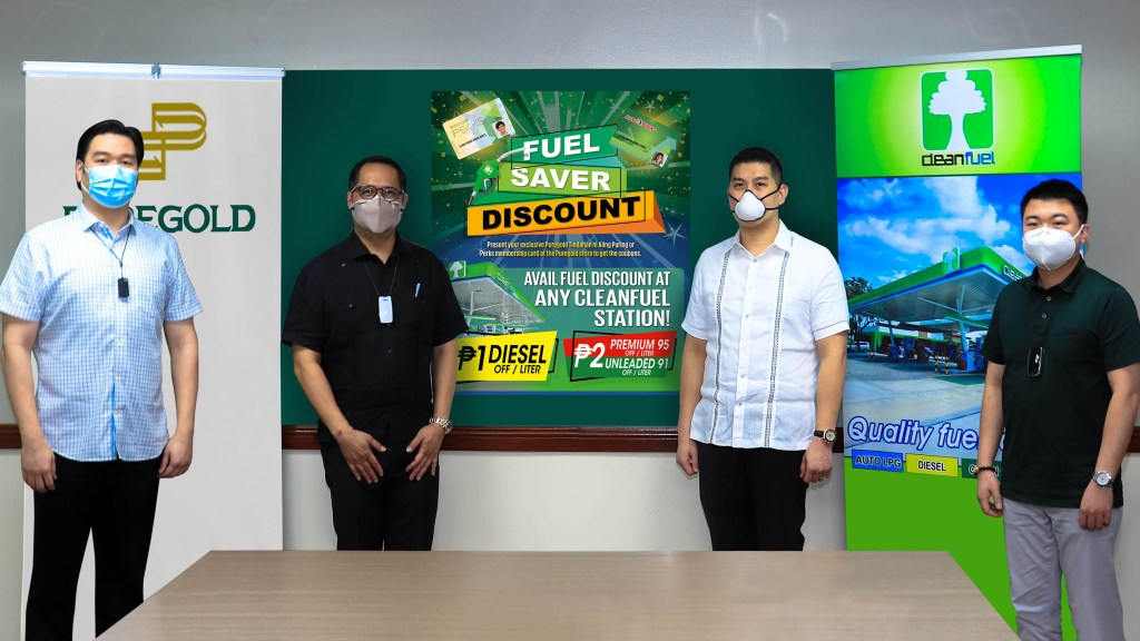 Puregold Members Can Get Discounts When Filling Up At CleanFuel