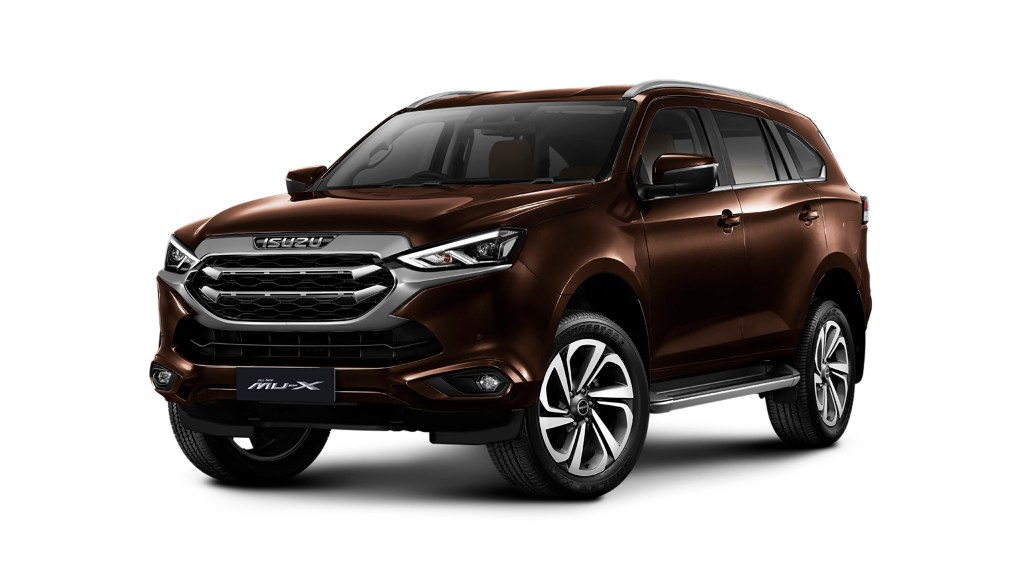 All-New 2021 Isuzu Mu-X Makes Global Debut In Thailand