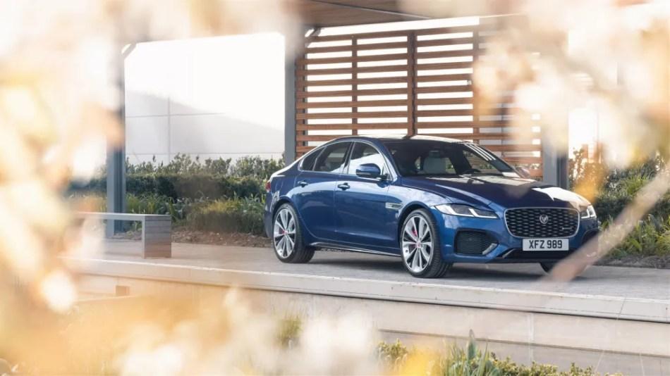 2021 Jaguar XF Exterior