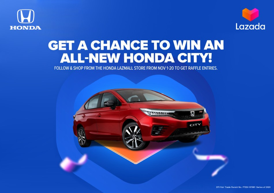 Add The All-New City To Cart? Honda Cars PH Is Now On Lazada
