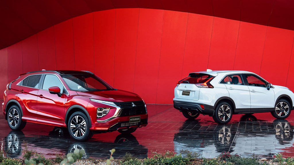 2021 Mitsubishi Eclipse Cross Gets Updated Styling, New PHEV Variant