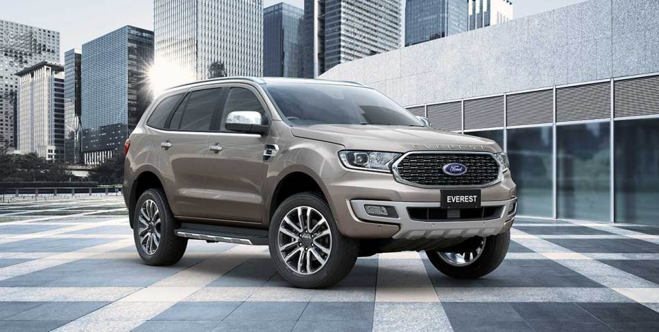 Ford Is Giving The Everest Another Facelift For The 2021 Model Year