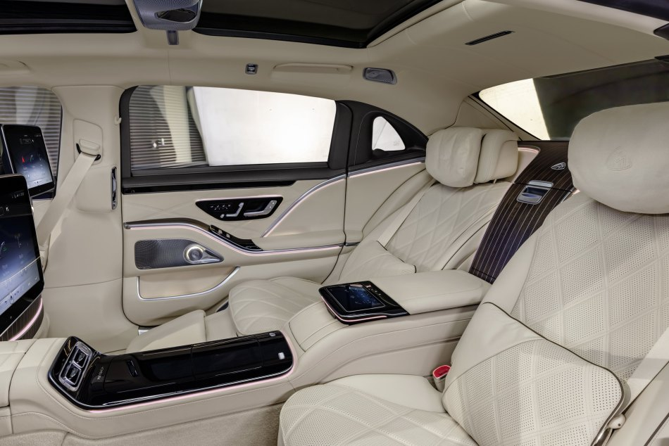 2021 Mercedes-Maybach S-Class Interior