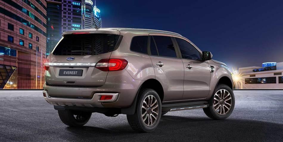 2021 Ford Everest Titanium Exterior