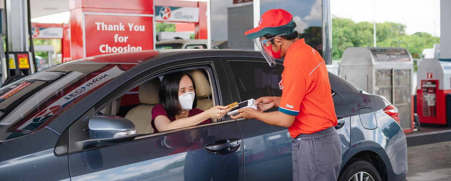 Caltex Partners With PayMaya For Contactless Payments